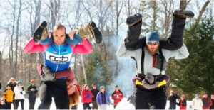 World Snowshoe Wife Carrying Championship @ Sunday River
