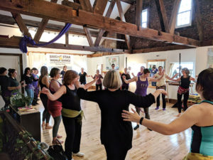 Lunchtime Shimmy - Beginner Belly Dance with Rosa Noreen @ Bright Star World Dance