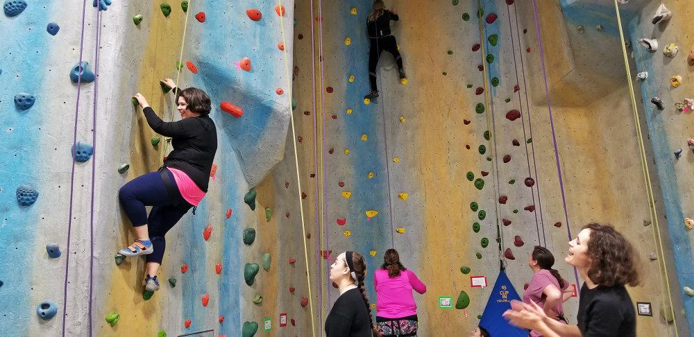 Climb on! Learn the climbing basics at EVO Rock + Fitness in Portland
