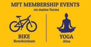 MFT Membership Events: BIKE + YOGA