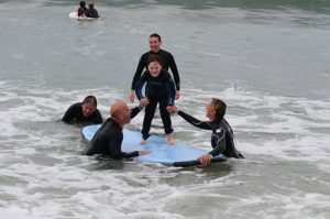 Special Surfers! Volunteer for adaptive surfing.  No experience necessary @ Gooch's Beach