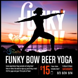 Funky Bow Yoga @ Funky Bow Brewery