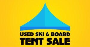 Used Downhill Ski, Snowboard and Cross Country Ski Tent Sale @ Gorham Bike and Ski