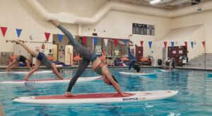 Paddleboard Yoga in the Pool @ Riverton Pool