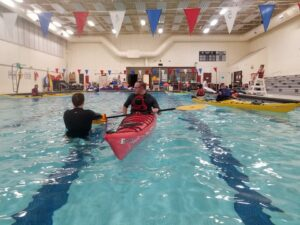 Winter Rolling Class: Learn to Roll a Kayak @ Riverton Community Center