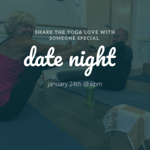 Date Night Yoga at The Daily Sweat @ The Daily Sweat