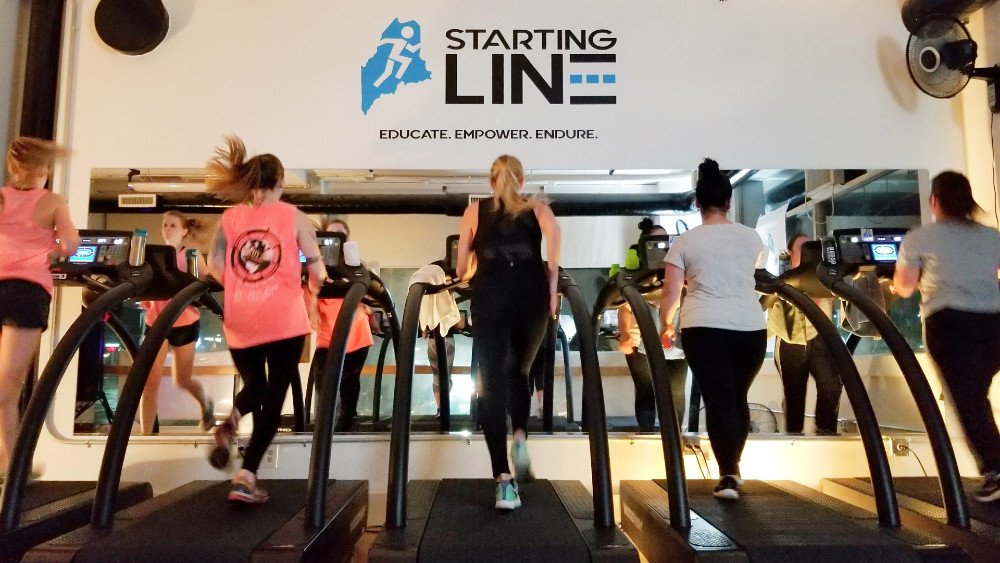 Love your run (and the treadmill) at Starting Line Run Studio in Portland