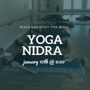 Yoga Nidra @ The Daily Sweat