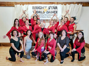 Winter Belly Dance Class in Portland with Rosa Noreen @ Bright Star World Dance