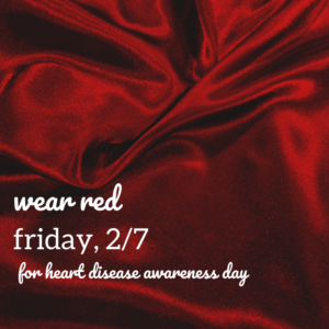 Wear Red All Day @ The Daily Sweat