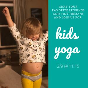 Kids Yoga @ The Daily Sweat