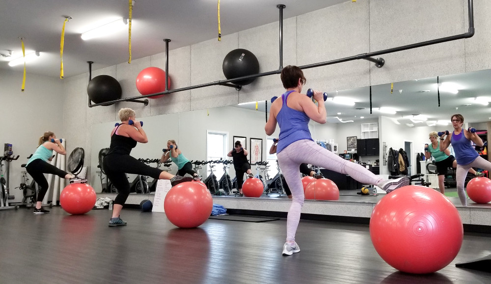 G.O.T. Balls at PNF in Windham: Challenge your core strength + stability