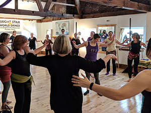 Lunchtime Shimmy - Every Wednesday at 12:00 PM @ Bright Star World Dance