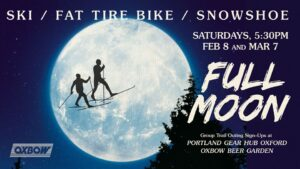 Full Moon Trail Outing @ Oxbow Beer Garden