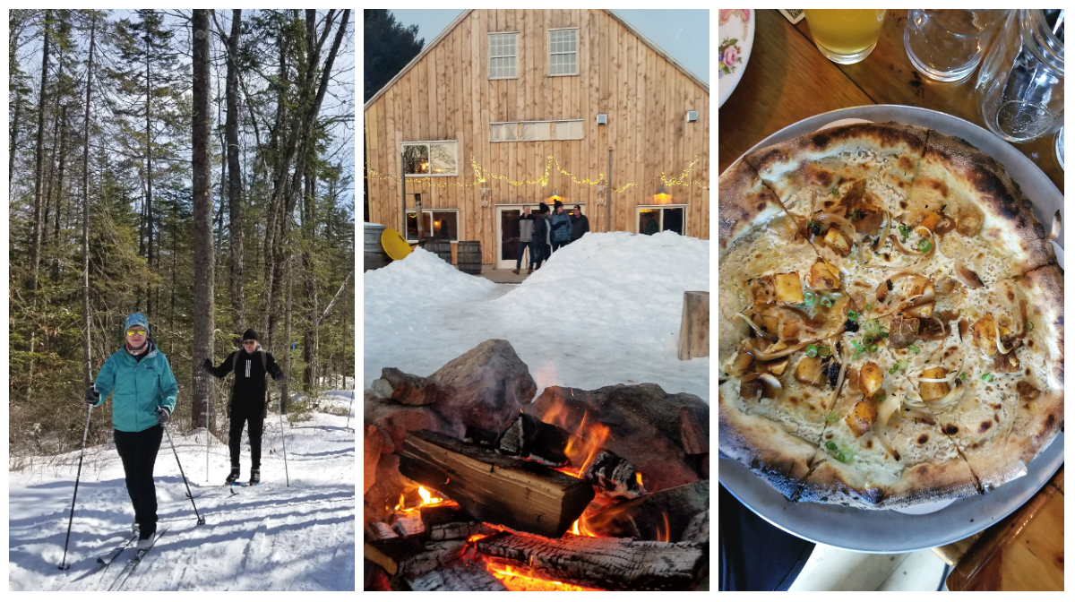 Trails Beer Pizza Bonfire: Oxbow Beer Garden in Oxford
