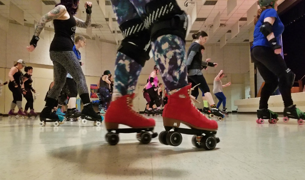 You can ROLLERDANCE with Dance Skate Club in Portland