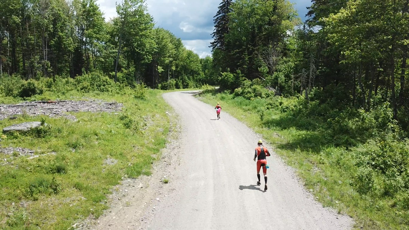Do something awesome: Summer Solstice SwimRun at Sky Lodge in Moose River