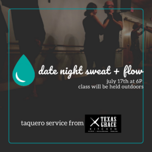 date night yoga with Texas Grace BBQ @ The Daily Sweat @  |  |  |