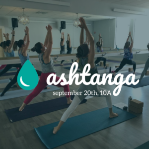 ashtanga workshop @ The Daily Sweat |  |  |