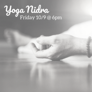 yoga nidra @ The Daily Sweat |  |  |