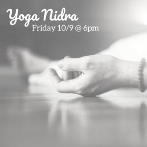 yoga nidra @ The Daily Sweat |  |  |