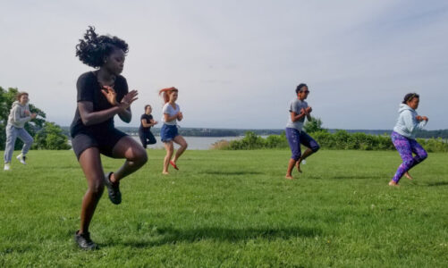 Dance outdoors: Afro Beats and Guinea-style West African dance classes in Portland
